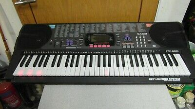 Casio CTK-620L Electronic Keyboard with Key Lighting System