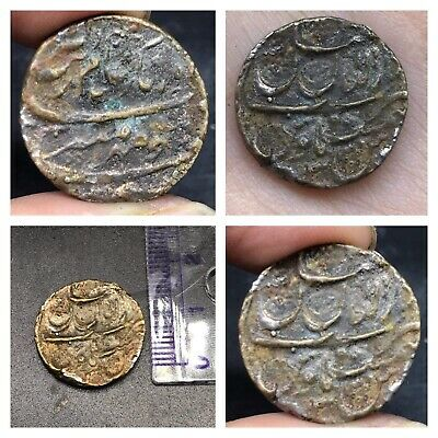 Wonderfull Very Old Maghaulian Islamic King Name Mix Sliver Coin