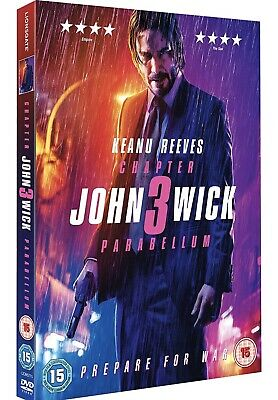 John Wick: Chapter 3 - Parabellum [2019] New DVD / Free Delivery