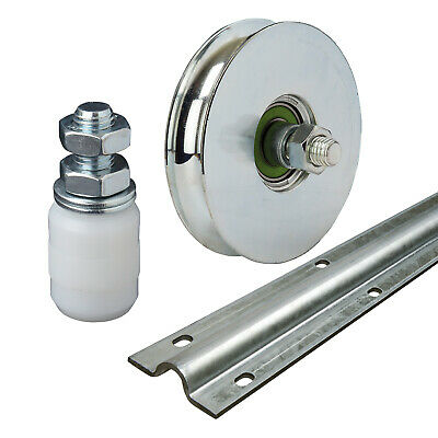 Sliding Gate Automation Components - Ground Track Wheels Nylon Roller System