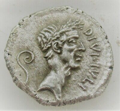 Unresearched Ancient Roman Silver Denarius