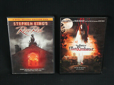 Stephen King's Rose Red & Diary of Ellen Rimbauer Horror DVD Sets - Discs NM!