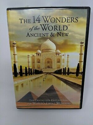 The 14 Wonders of the World Ancient and New DVD