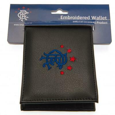 Rangers FC Official Blue Crested Wallet With Multiple Card Slots Present