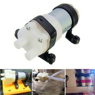 12V R385 Mini Aquarium Pump Fish Tank Motor for Diaphragm Pump Water/AIR