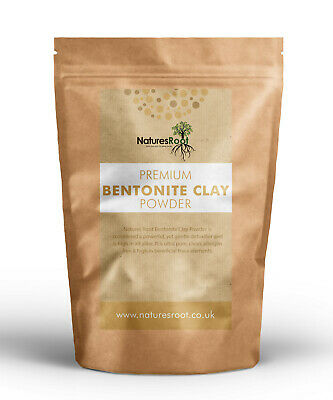 Pure Bentonite Clay - Fine Powder | Healing Detox Clay Mask | Skin & Food Grade