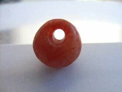 1 Ancient Neolithic Carnelian Amulet, Stone Age, RARE !! TOP !!