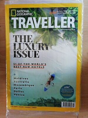 National geographic traveller magazine July/August    2018