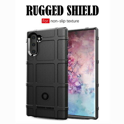 For Samsung Galaxy Note 10 Plus 9 S10+ Full Cover Rugged Shield Soft Armor Case