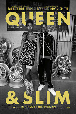 QUEEN & SLIM MOVIE POSTER 2 Sided ORIGINAL Advance 27x40 DANIEL KALUUYA