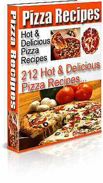 Pizza Recipes Hot & Delicious eBook PDF with Full Master Resell Rights >