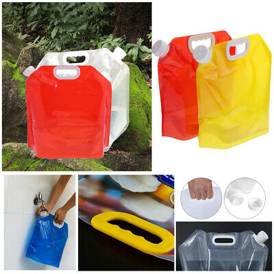 Outdoor Sports Carrier Water Bags Storge Container Picnic Bucket Portable Bag