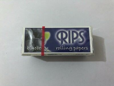 Blueberry Flavoured Rips Rolling Papers on A Roll Smoking Paper Wide Papers