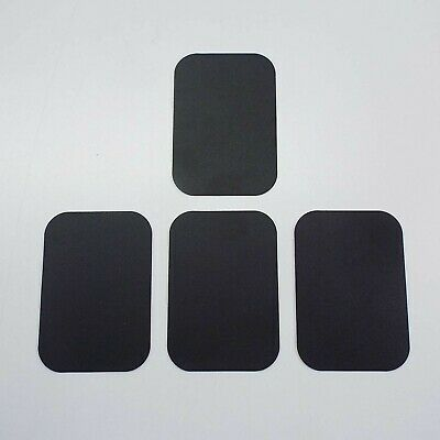 4X Replacement Mount Metal Adhesive Plate for Magnetic Phone Car Holder (SQUARE)