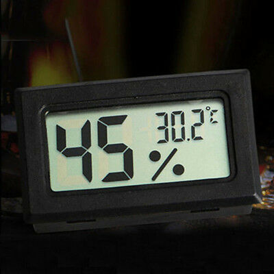NEW Mini Digital LCD Indoor Temperatur Feuchtigkeit Meter Thermometer Hygrometer