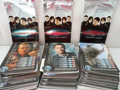 doctor who TORCHWOOD 3RD SET LOT COMMON COLLECTIBLE TRADING CARDS 160