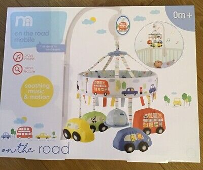 Mothercare On The Road Musical Cot Mobile ** BNIB**