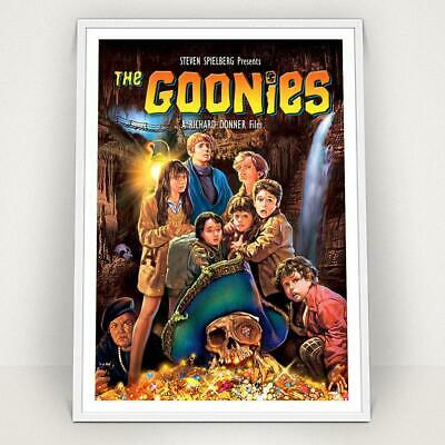 THE GOONIES - 1985 - Classic Vintage Movie Poster Print