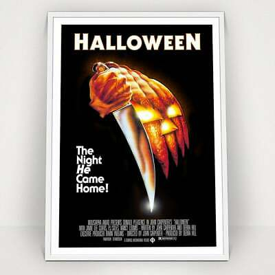 HALLOWEEN - 1978 - Classic Vintage Movie Poster Print