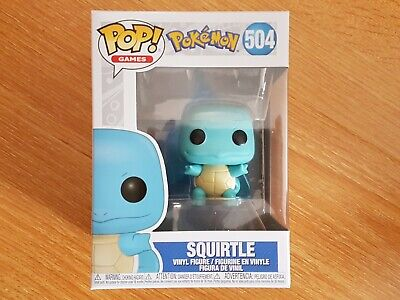 Funko Pop! Games #504 - Pokemon - Squirtle, In-Hand Ready to Ship!