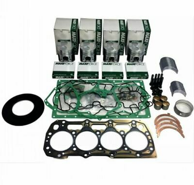 Case Skid Steer Engine Air Filter Kit 435 445 CT inner outer