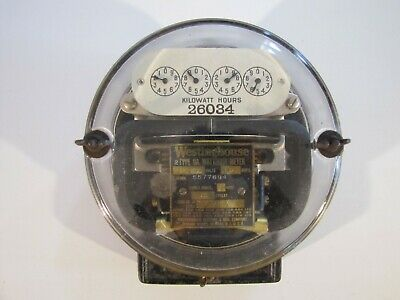 Vintage Westinghouse Watthour Meter Type OA - Single Phase from 1922