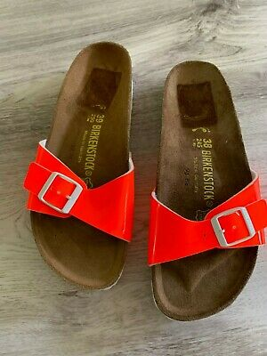 BIRKENSTOCK MADRID NEON orange EVA Gr 36,38,40,41 schmales