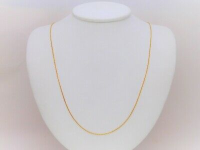 Vintage 20k Gold Cable Chain