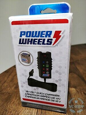 Fisher Price Power Wheels 12-Volt Quick Charger with Battery Status Indicator