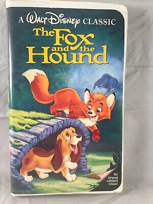 The Fox and the Hound Diamond Edition VHS
