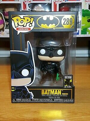 Funko Pop! Heroes #289 - Batman 80th Anniversary 1995 Batman Forever (Brand New)