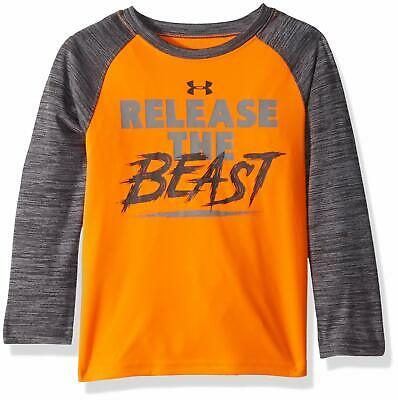 Under Armour Baby Boy T-Shirt Gray Size 2T Graphic-Print Performance Tee $30 331