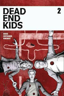 Dead End Kids #2 Convention Exclusive Variant Nm Frank Gogol Source Point Press