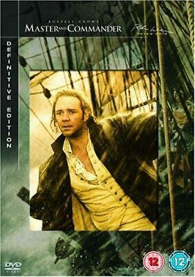 Master & Commander - Definitive Edition [DVD], Good DVD, Max Benitz, Billy Boyd,