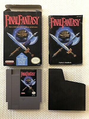 Final Fantasy ( Nintendo Entertainment System ) NES , Complete in Box - CIB