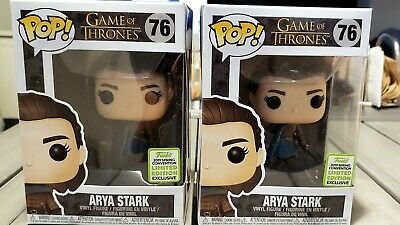 Funko POP! Game of Thrones ARYA STARK ECCC Spring 2019 Box Lunch Exclusive