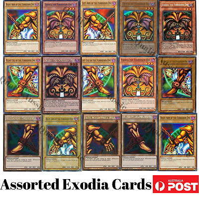 Yugioh Assorted Exodia the Forbidden One Set Cards CHOOSE YOUR CARDS