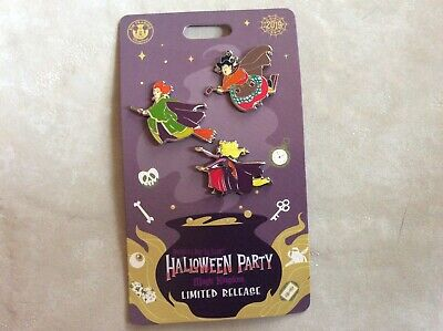 2019 Mickey's Not So Scary Halloween Party Pin Hocus Pocus Disney World