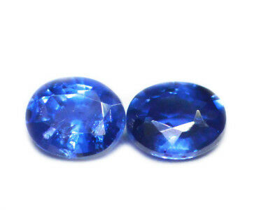 Blue Sapphire Pair  0.64 Cts - Natural Ceylon Loose Gem - 18745