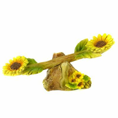 Miniature Dollhouse Fairy Garden Sunflower Seesaw - Buy 3 Save $5