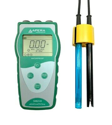 Apera SX823-B Portable pH/Conductivity Meter Kit Testing pH/TDS/Cond./Temp AI441