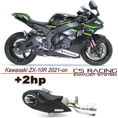 2016-2019 Kawasaki Ninja ZX10R ZX10RR Slip-On Escape Racing Silenciador