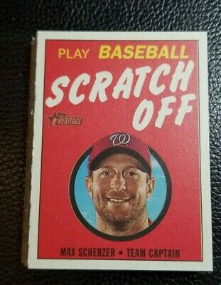 1970 SCRATCH OFF 2019 Heritage High Number YOU PICK YOUR INSERT CARD