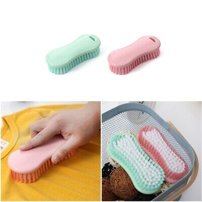 Plastic Household Clothes Washing Brush Candy Color Laundry Shoes Scrubber Brush