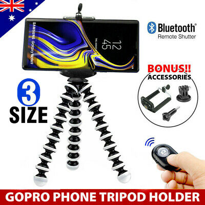 Flexible Octopus Tripod Stand | 3 in 1 | Universal Phone Mount | iPhone Samsung