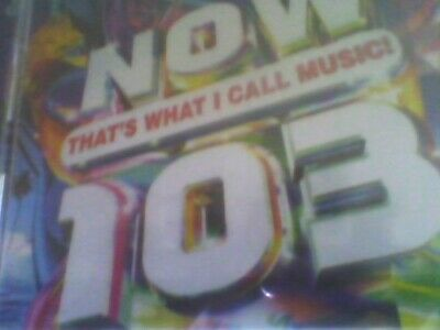 Now That's What I Call Music 103 2 Cd Set New Sealed Free Post