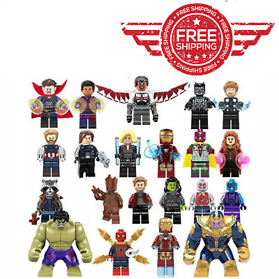 Thanos Hulk Iron Man Thor Venom Action Hero Figure Avengers Engame Infinity War