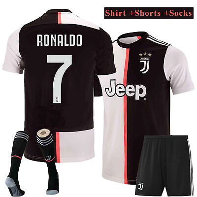 2020 New Soccer Suits Football Kits Jersey Strip Shorts Socks For Kids Adults