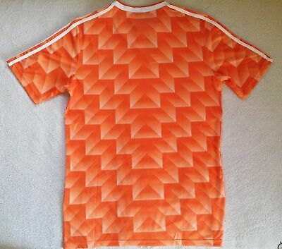 1988 Netherlands Home Retro Football Soccer Shirt Jersey Vintage Holland HOT