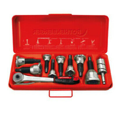 Rothenberger TEE-EXTRACTOR set, 12-15-18-22-28-35-42mm 22126